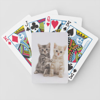 Striped Kittens Cat Playing Cards