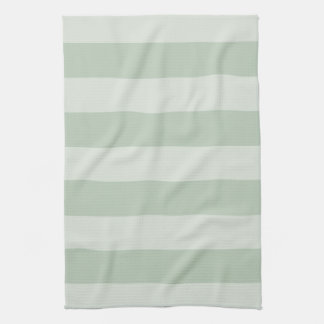 Striped Light Green Kitchen Towl Towels