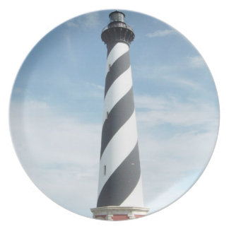 Striped Lighthouse Plate