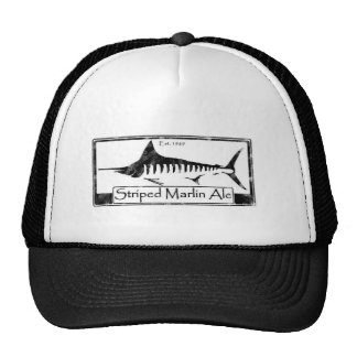 Striped Marlin Ale Trucker Hats