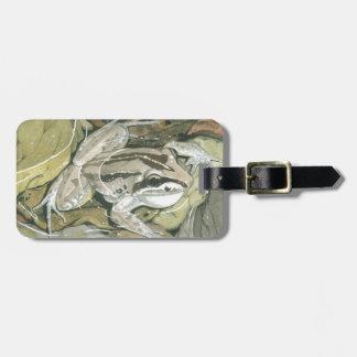 Striped Marsh Frog Bag Tag