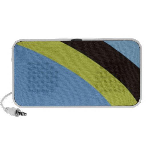 Striped Notebook Speakers