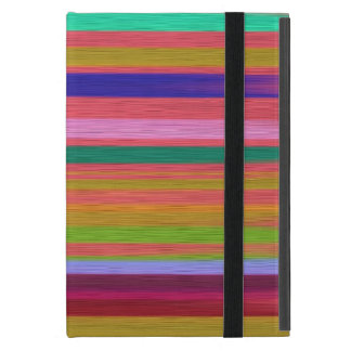 Striped Painted Wood Effect Cover For iPad Mini