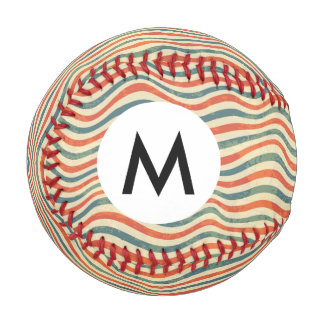 Striped pattern baseball
