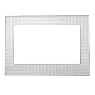 Striped pattern paper background magnetic picture frame