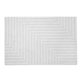 Striped pattern paper background placemat