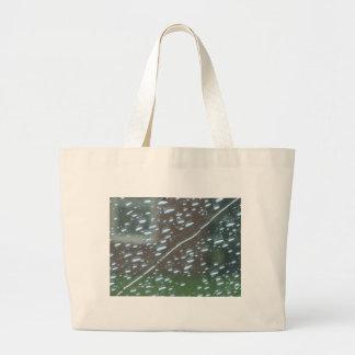 Striped Rain Large Tote Bag