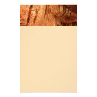 Striped Rock of Double Arch Alcove I Stationery