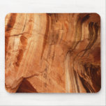 Striped Rock of Double Arch Alcove I Zion Park Mouse Pad