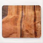 Striped Rock of Double Arch Alcove II Zion Park Mouse Pad