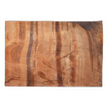 Striped Rock of Double Arch Alcove II Zion Park Pillow Case
