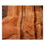 Striped Rock of Double Arch Alcove II Zion Park Poster