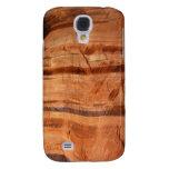Striped Rock of Double Arch Alcove II Zion Park Samsung Galaxy S4 Case