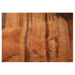 Striped Rock of Double Arch Alcove II Zion Park Wood Poster