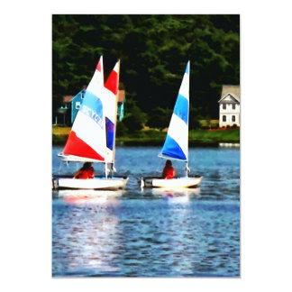 Striped Sails Card