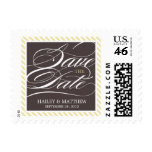 STRIPED SAVE THE DATE   POSTAGE