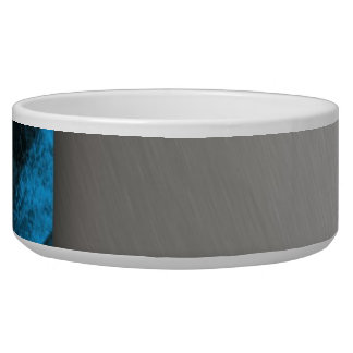Striped Silver Brushed Aluminum Bowl