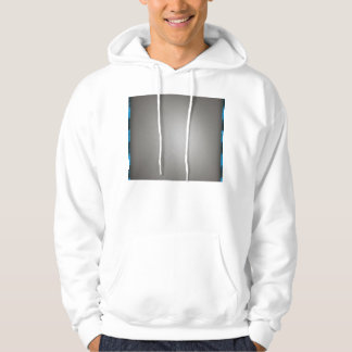 Striped Silver Brushed Aluminum Hoodie