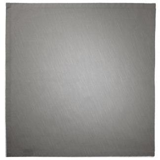Striped Silver Brushed Aluminum Napkin