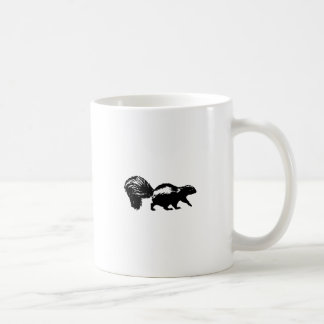 Striped Skunk Coffee Mug