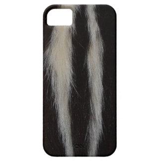 Striped Skunk Fur iPhone 5 Case