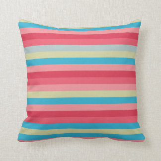 Striped Spring Time Pillow