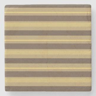 Striped Stone Coaster