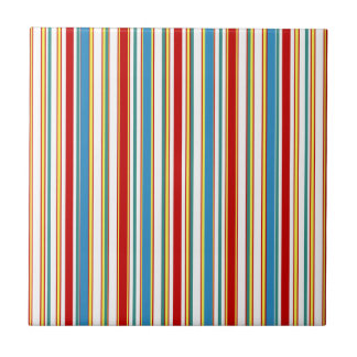 Striped Summer Carnival Mix And Match Tiles