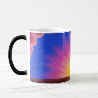 Striped Sunrise Morphing Mug