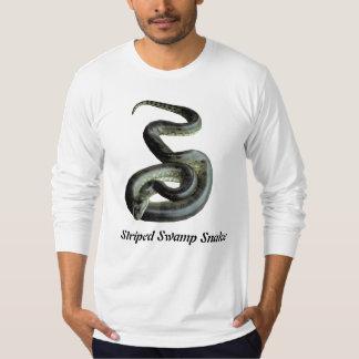 Striped Swamp Snake American Apparel Long T-Shirt