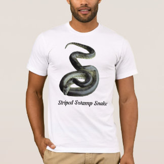 Striped Swamp Snake American Apparel T T-Shirt