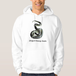 Striped Swamp Snake Basic Hooded Sweatshirt