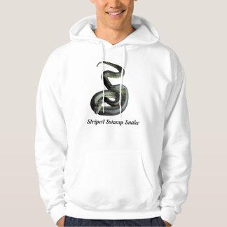 Striped Swamp Snake Basic Hooded Sweatshirt