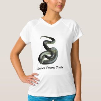 Striped Swamp Snake Micro-Fiber Sleeveless T-Shirt