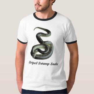 Striped Swamp Snake Ringer T-Shirt