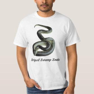 Striped Swamp Snake Value T-Shirt