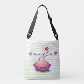 Striped Sweetie Pie Tote Bag