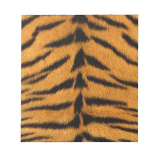 Striped Tiger Skin Note Pad