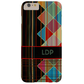 Striped Triangles Initialled iPhone 6/6s Plus Barely There iPhone 6 Plus Case