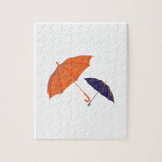 Striped Unbrellas Puzzle