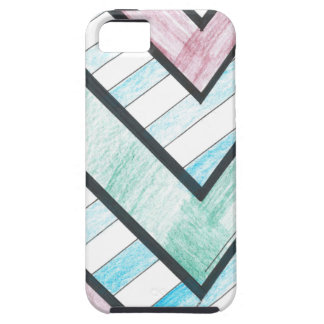 Striped V Motif iPhone 5 Case