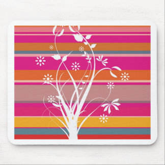 Striped Whimsy Mouse Pad