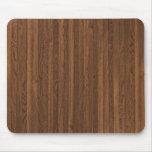 Striped Wood Grain MousePad