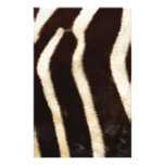 Striped Zebra Skin Custom Stationery