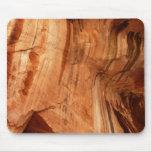 Striped Zion Rock Mousepad