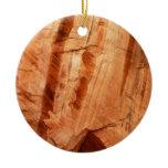 Striped Zion Rock Ornament
