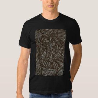 'Stripedy black'n'white' T-shirt