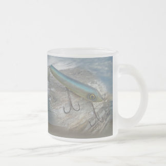 Striper Xpert Surf Slapper Antique Fishing Lure Frosted Glass Coffee Mug