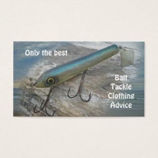 Striper Xpert Surf Slapper Vintage Fishing Lure Business Card