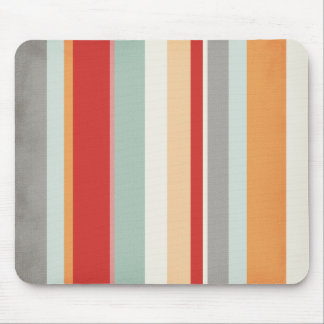 stripes109 COLORFUL VERTICAL STRIPES PATTERN BACKG Mouse Pad